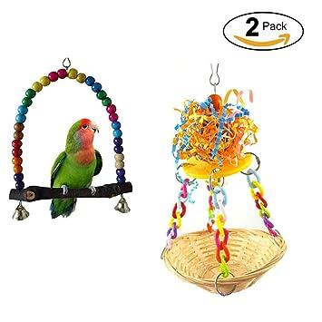 Hypeety Toys Bird Nido Para Colgante Cesta De PájarosJuguetes 8ON0vmnwPy