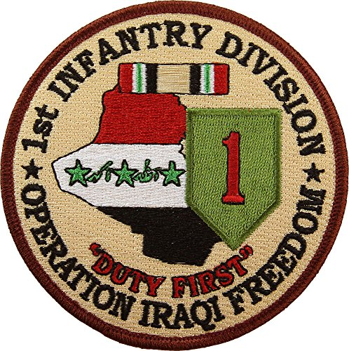 n Operation Iraqi Freedom Patch Full Color ()