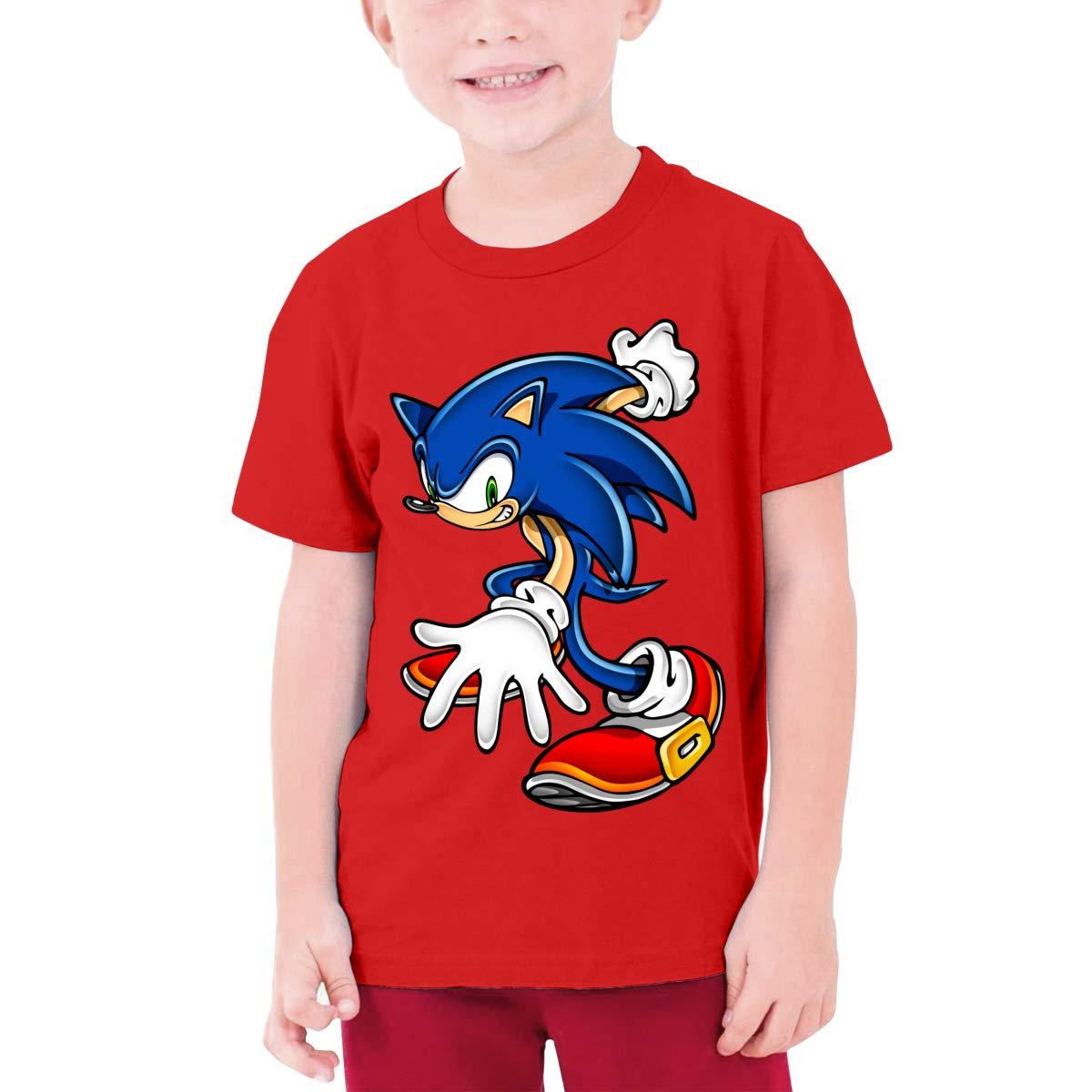 MDClothI Youth Boys /& Grils Sonic Hedgehog Casual Style Long Sleeve T-Shirt