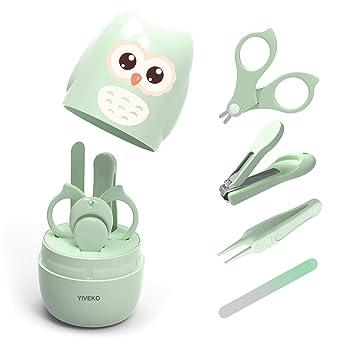 Amazon.com: YIVEKO - Kit de manicura para bebé 4 en 1 con ...