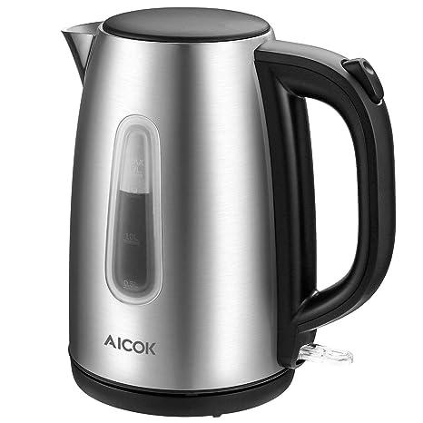 Amazon.com: Aicok, hervidor de agua eléctrico de ...