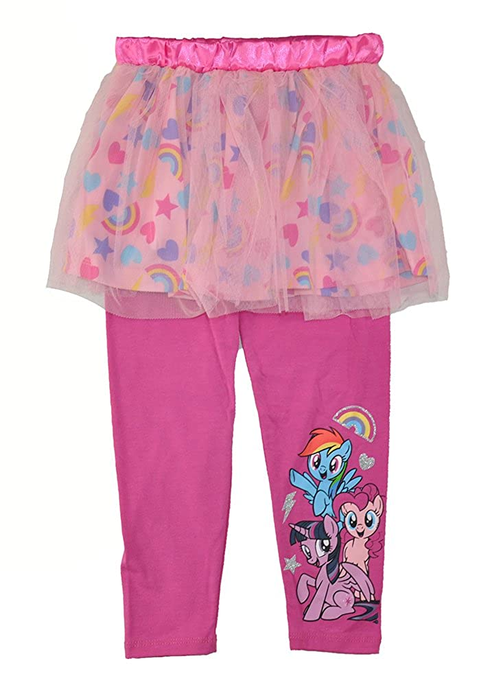My Little Pony Hasbro Little Girls 2PC Tutu with Legging Children's Apparel