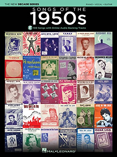 Songs of the 1950s: The New Decade Series with Online Play-Along Backing Tracks - Hal Leonard Backing Tracks