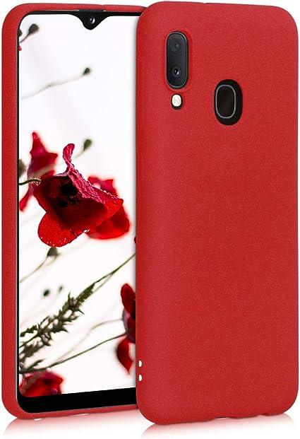 cover samsung a20e rossa