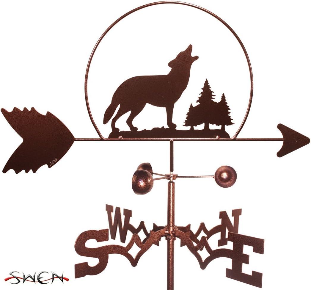 SWEN Products MOOSE WILDLIFE Steel Weathervane