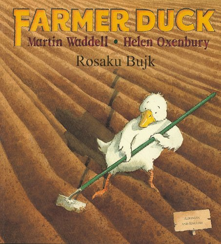Farmer Duck in Albanian and English