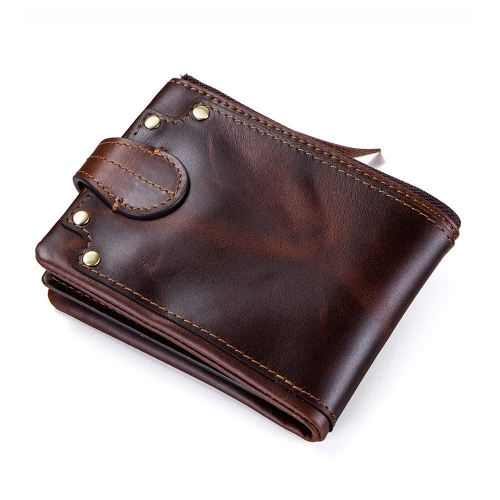 Carteras para hombres Billetera tachonada de cuero de regalo ...
