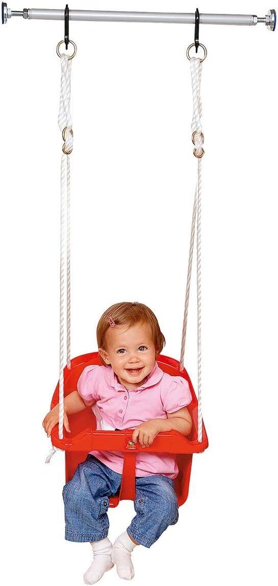 Eine Person, die benutzt Baby-Schaukeln
