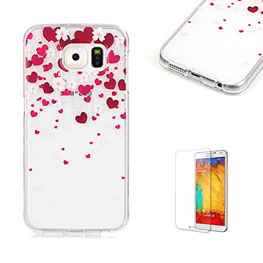14 opinioni per Cover Per Samsung Galaxy S6 Silicone Custodia Morbida Trasparente con Disegno