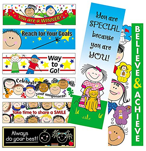 Boards Esteem Self Bulletin (Creative Teaching Press Self-Esteem Mini Bulletin Board Set (0620))