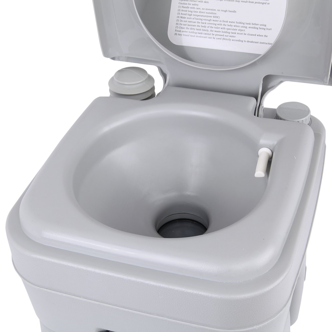 Ridgeyard Camping Toilette 20 Deluxe Voyage Portable Chimie De