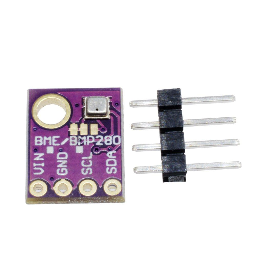 4pcs BME280 5V Temperature Humidity Sensor Atmospheric Barometric Pressure Board with IIC I2C for Arduino
