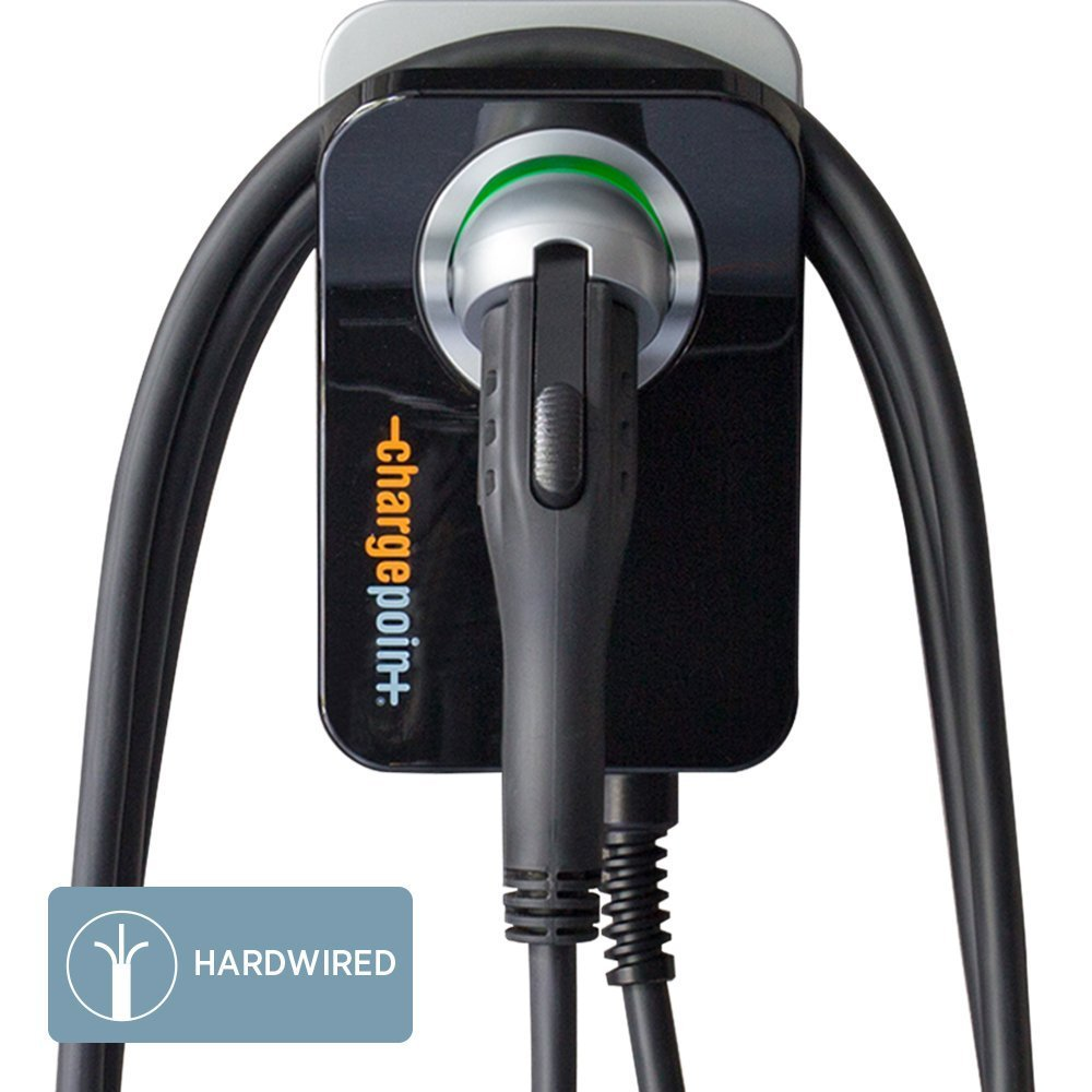 ChargePoint Home 32A Electric Vehicle Charger, Wi-Fi Enabled, Hardwire Station, Outdoor and Indoor Install, 25 ft. cord by ChargePoint