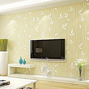 KYDJ ® Schlafzimmer Wohnzimmer Sofa Vlies Tapete Modern Minimalist