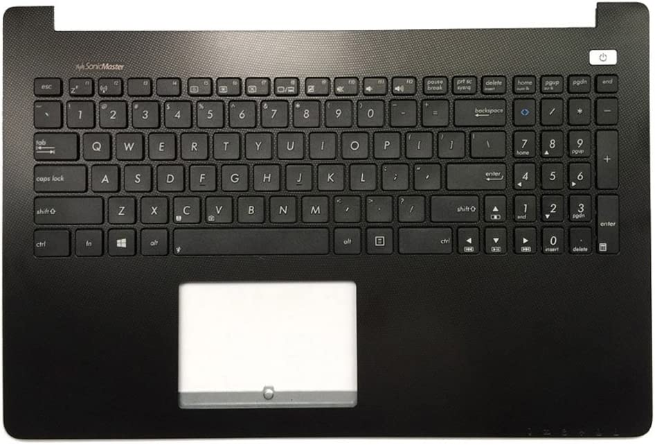 New Laptop Replacement Keyboard for Asus X502C X502CC X502CA X502 X502U X502EI X502X US Layout (with Black C Shell)