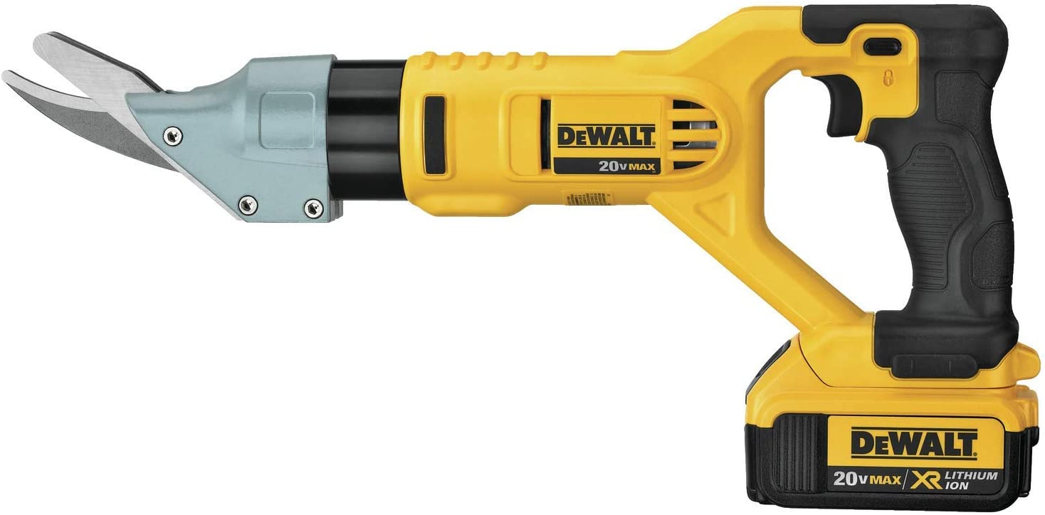 DEWALT DCS498M1R 20V MAX Lithium-ion 5//8-inch Cordless Fiber Cement Shears Kit Renewed