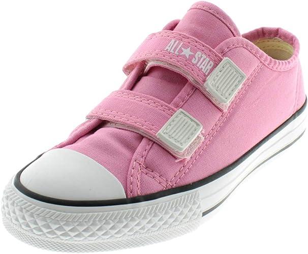 Tênis Infantil Converse All Star CT Border 2 Velcros Rosa