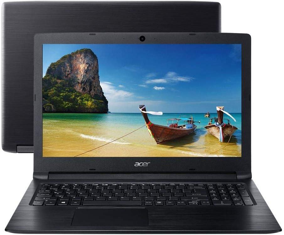 """Notebook - Acer A315-33-c58d Celeron N3060 1.60ghz 4gb 500gb Padrão Intel Hd Graphics Linux Aspire 3 15,6"""" Polegadas"""