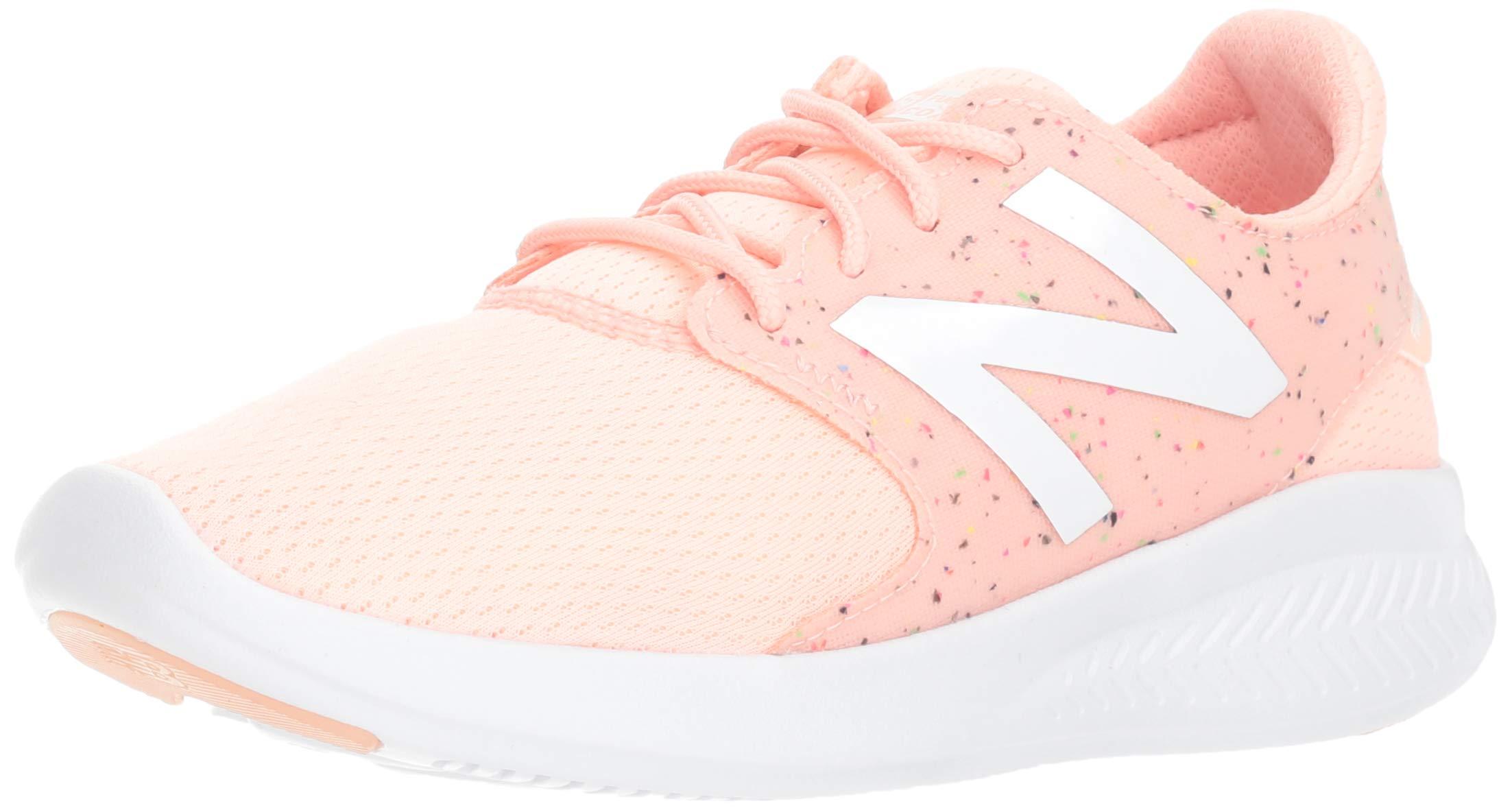 New Balance Girls' Coast V3 FuelCore Running Shoe Himalayan Pink 13 M US Little Kid
