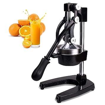 Exprimidores Manuales,Exprimidor De Manualmente De Negro De Alta Calidad Por Naranjas,Limones CíTricos,Frutas Etc: Amazon.es: Hogar