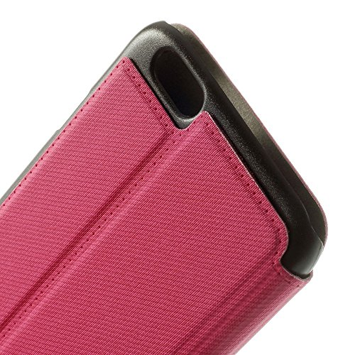 Coque de protection Apple iPhone 6S 6 Housse Coque Étui de slim rose decui Rose Étui de protection en cuir PU