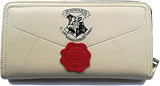 Women's Wallets Compatible for Harry Potter Hogwarts Long Zipper Wallet Credit Card Holder