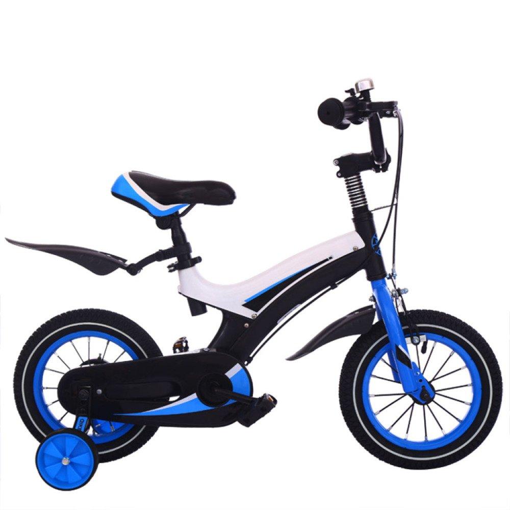 QXMEI Bicicleta Infantil De Acero con Alto Contenido De Carbono 12/14/16 Pulgadas Niña 2-4-4-5-6-9 Años Bicicleta Infantil con Ruedas De Entrenamiento,12Inches