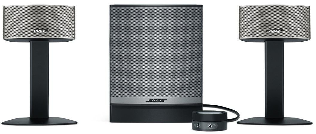 Bose Companion 50 Multimedia Speaker System, Graphite: Amazon.in:  Electronics