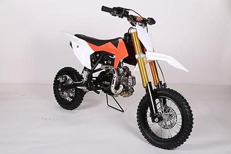 Dirt Bike 50 cc para niños naranja Fast and Baby