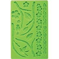 Wilton Silicone Nature Designs Fondant and Gum Paste Mold - Cake Decorating Supplies