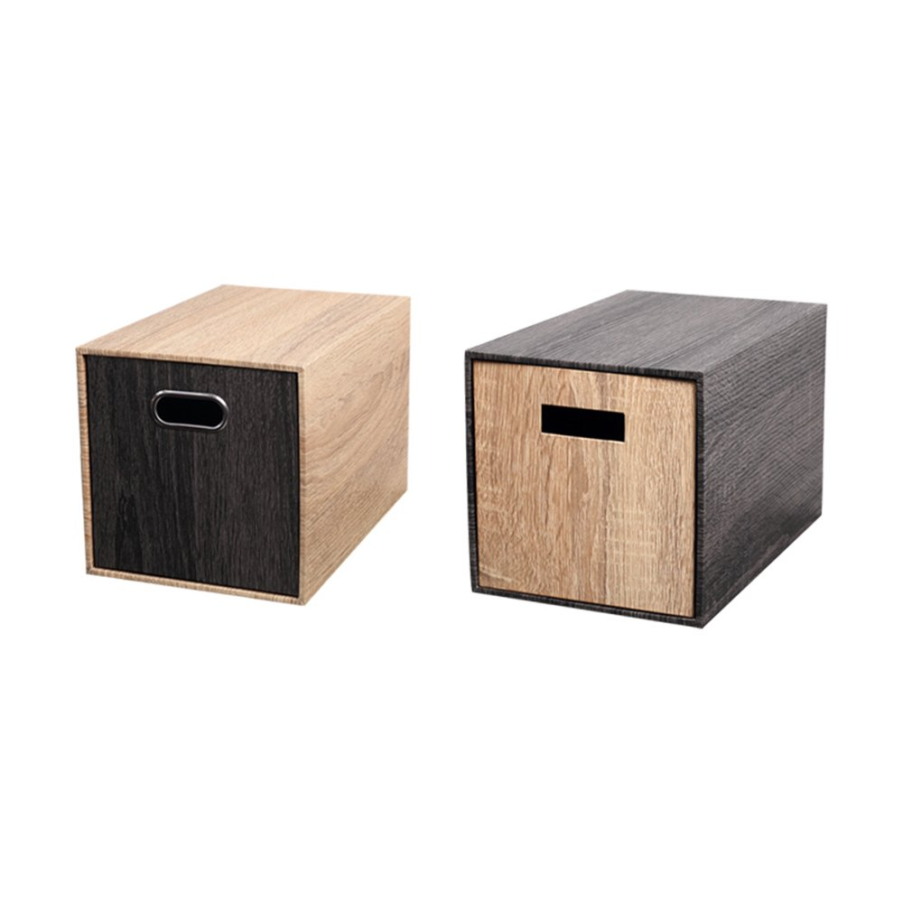 収納ボックス 引き出し収納ボックスオフィスデスクトップステーショナリーキャビネット仕上げ化粧収納ボックス B07MT571V4