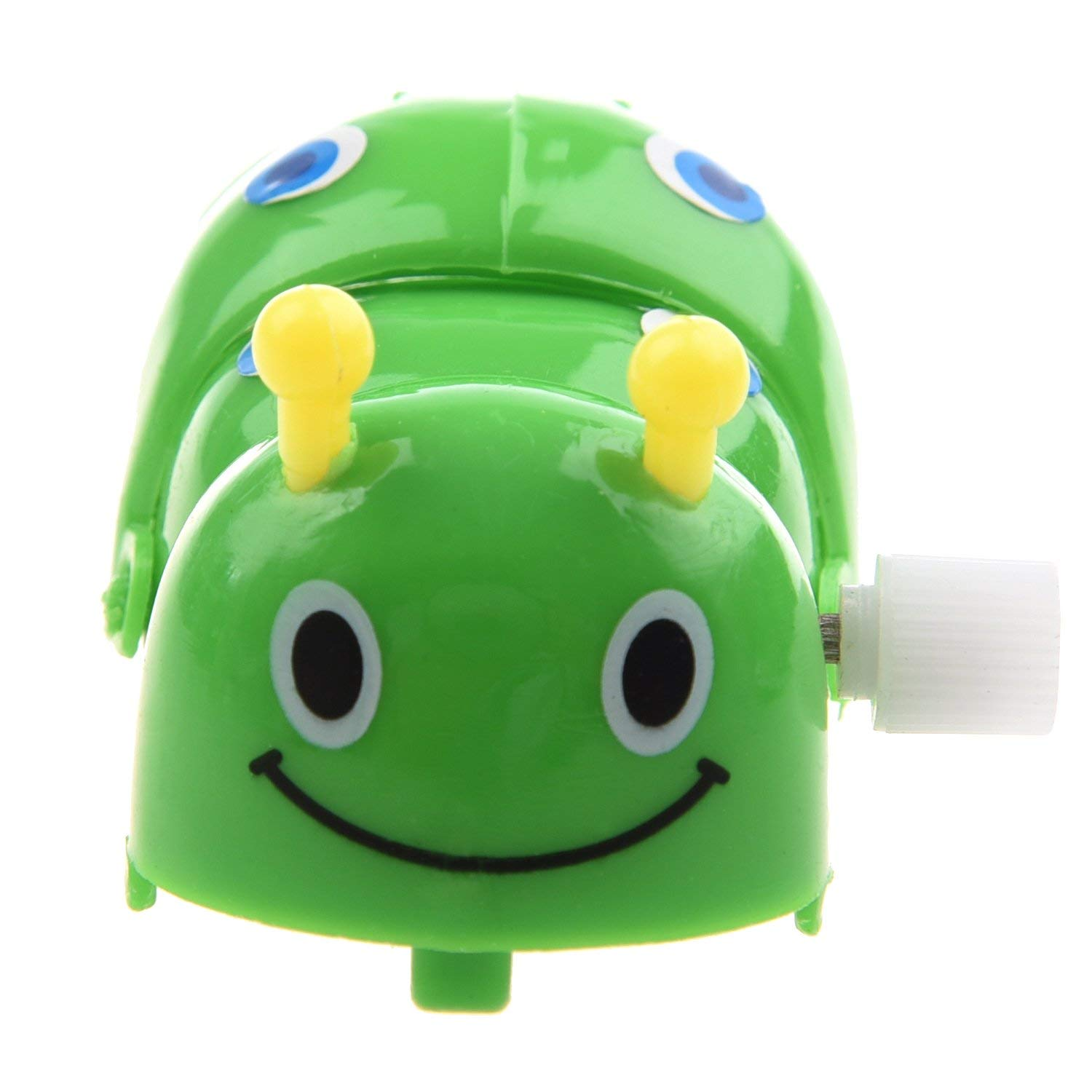 Yevison Children Clockwork Spring Toy Green Plastic Cartoon Creeping Insect Durable and Useful by Yevison