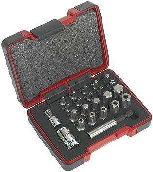 Sealey ak6226 TRX-P & seguridad TRX-TS juego de puntas 23 ...