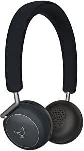 Libratone Q Adapt Active Noise Cancelling Headphones, Wireless Bluetooth Over Ear Headset w/Mic, CSR 8670 Chip, aptX Lossless Hi-Fi Sound with Deep Bass, 20 Hours Playtime for Travel Work TV-Black