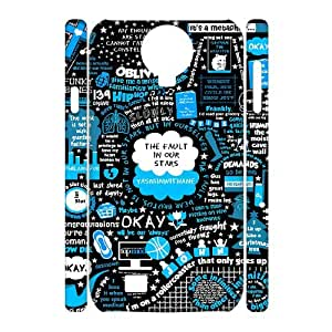 The Fault In Our Stars 3D Customized Durable Hard Plastic Case Cover LUQ900263 For SamSung Galaxy S4 I9500
