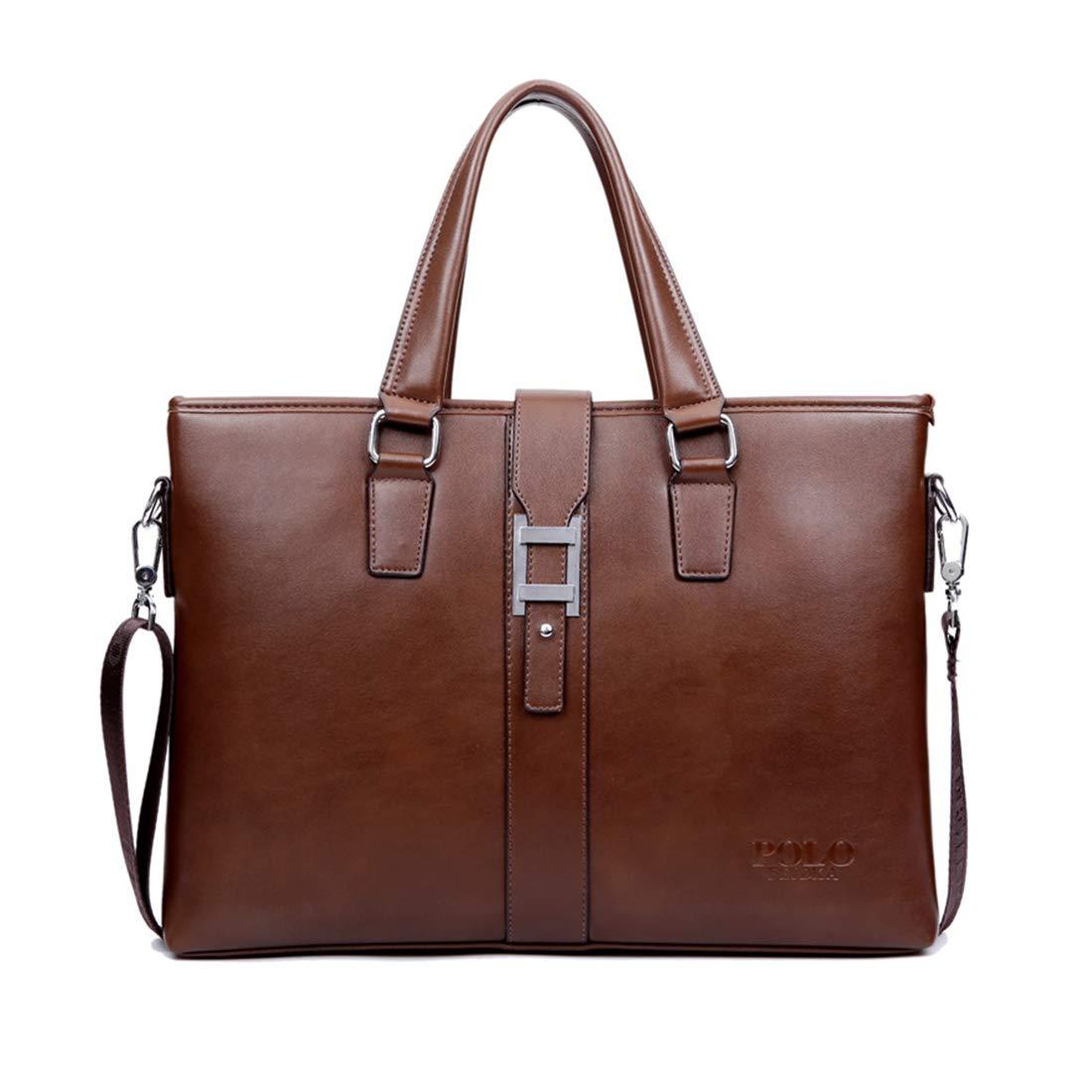 GRXXX Leder Aktentasche Laptop Messenger Business Taschen für Männer wasserdicht langlebig B07Q82TNWS Messenger-Bags