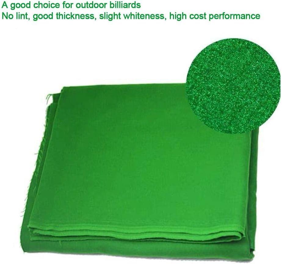HUVE Pool Table Felt Billiard Cloth Single-sided Professional Pool Tablecloth Felt Worsted Billiard Pool Eight Ball Tablecloth For Sports Game Performance Improving