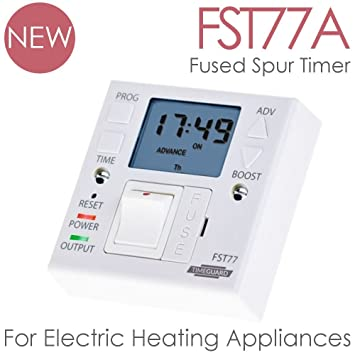 Solaire heating products timeguard fst77a fused spur timer for solaire heating products timeguard fst77a fused spur timer for electric wall heaters heated asfbconference2016 Image collections