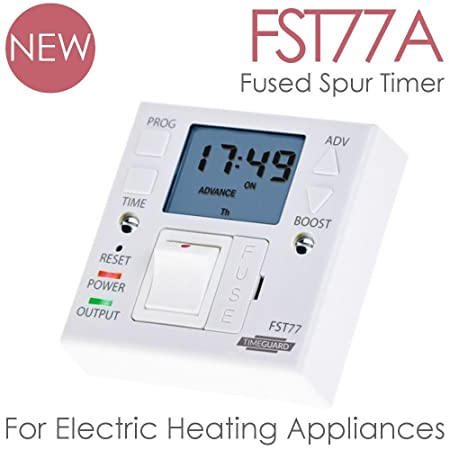 Solaire heating products timeguard fst77a fused spur timer for solaire heating products timeguard fst77a fused spur timer for electric wall heaters heated cheapraybanclubmaster Gallery