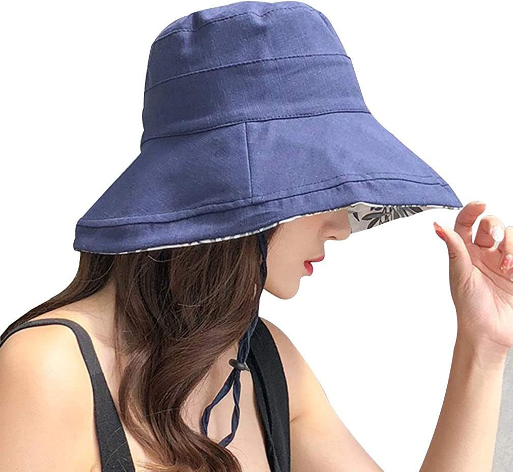 Damen Sonnenhut Faltbar Sommerhut Strandhut Faltbar Breit Rand Kappe Mode Hut