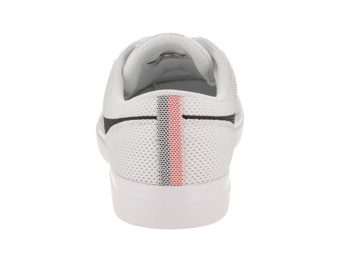 NIKE Men's SB Portmore II Ultralight Skate Shoe B004B5E4HK 11 D(M) US White/Track Red/Black