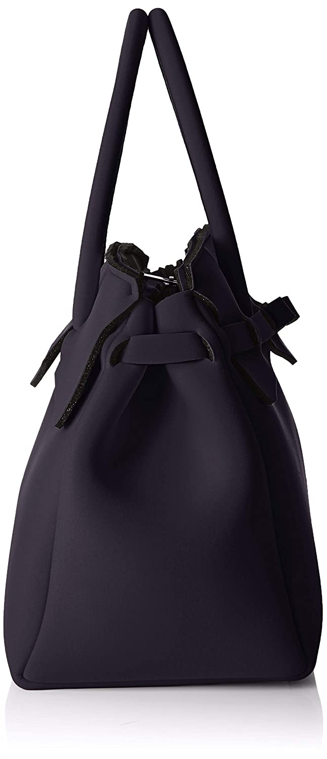 W x H x L save my bag Miss Plus 34x29x18 cm Borsa a Spalla Donna, Nero