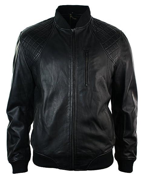 giacca pelle moto imbottita uomo