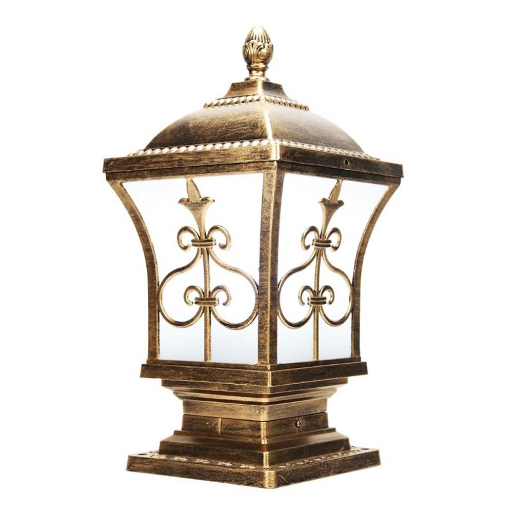 Neixy - 屋外防水壁の景色の列のヘッドライトのランタンユニークな創造的な人格の柱の照明の外観ヨーロッパのアルミヴィラの庭の入り口プールのエッジの結婚式のポストライトの装飾 (Color : Bronze 2, サイズ : 32cm) B07DDJV8TR 16925  Bronze 2 32cm