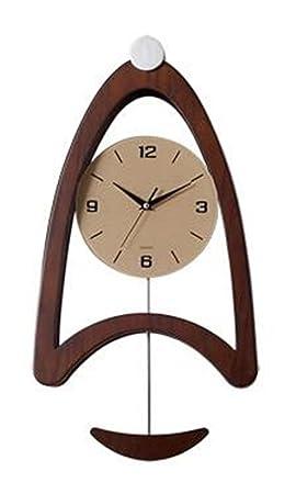 PLYY Reloj de Pared Reloj Grande de péndulo Pared Colgante Mudo No Ticking Silent Barrer Segundos Necesidades diarias Salón Decorativo: Amazon.es: Deportes ...