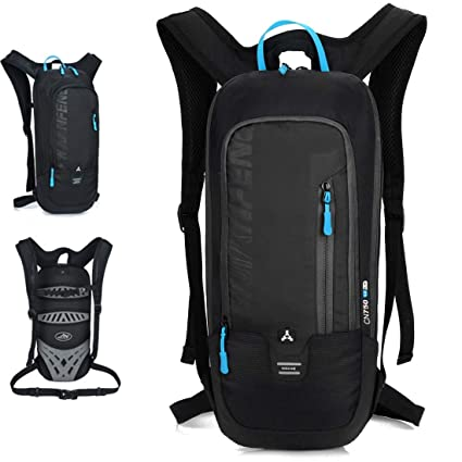 f47df52ff257 SMUNIFUR Hiking Backpack Lightweight Travel Daypack Waterproof Outdoor Bag  Packable Foldable Durable Small Pack for Camping Cycling