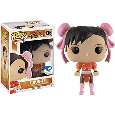 Funko Street Fighter-Chun-Li Red Outfit Figurine, Multicoloured, 13445: Toys & Games