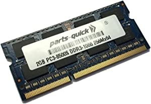 2GB DDR3 Memory for Acer Aspire One D255E Series D255e-13412, AOD255e-13412 Netbook RAM (PARTS-QUICK Brand)