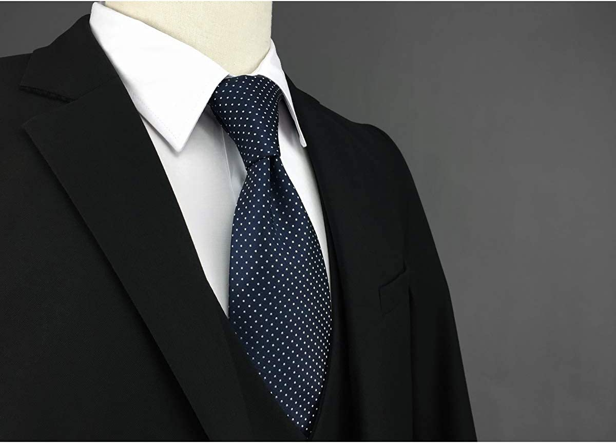 Shlax&Wing Hombre Clásico Traje De Negocios Seda Corbatas Para ...