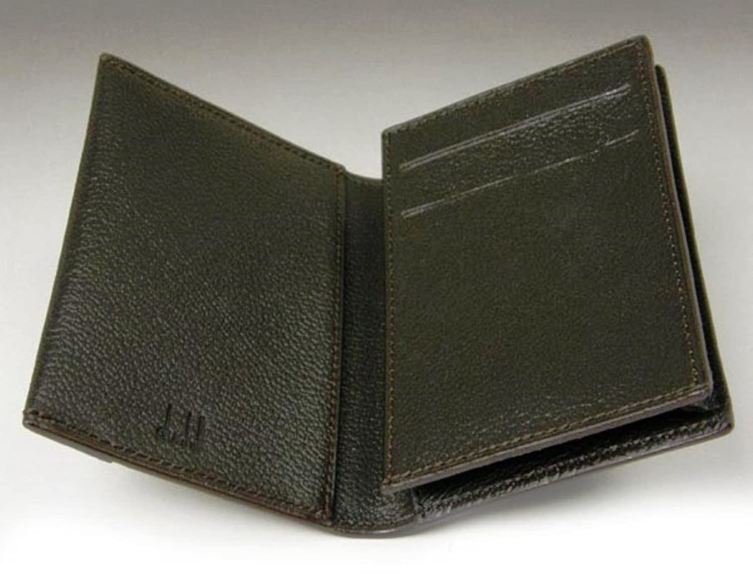 DUNHILL OH4700A D-Eight Leather Business Card Case Wallet at Amazon ...